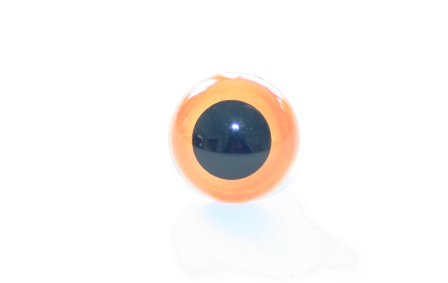 Amber safety eyes for toy making