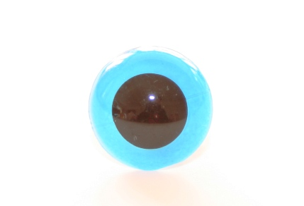Blue safety eyes for toy making