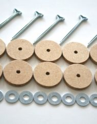 20mm cotter pin joints for jointed teddy bears