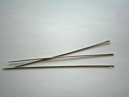 "British made doll needle 5"" for toy making"