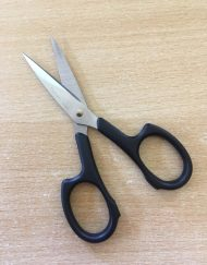 Hemline Pro Cut Embroidery 4.25 Scissors black
