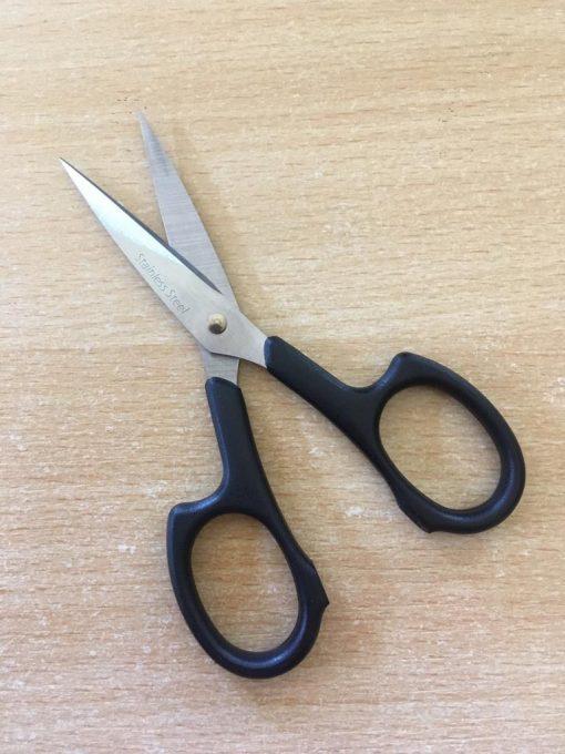 Hemline Pro Cut Embroidery 4.25 Scissors black