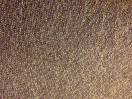 Helmbolm Mohair Gold on Brown 20mm
