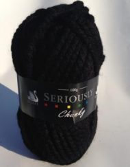 Cygnet Seriously Chunky Yarn Black