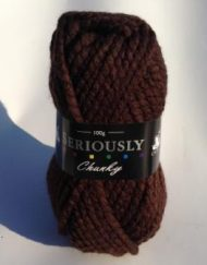 Cygnet Seriously Chunky Yarn Brown
