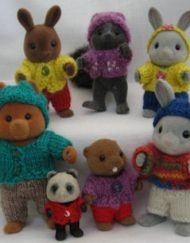 Knitting Pattern for Sylvanian Families Outfits