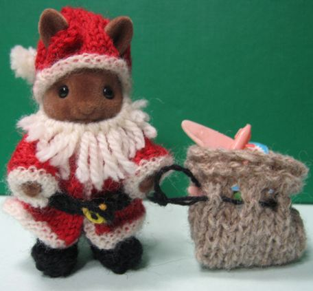 Kit For Sylvanian Families Santa Outfit Amazing Craft