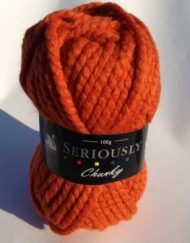 Cygnet Seriously Chunky Yarn Burnt Orange