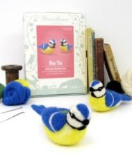 Hawthorn Handmade Blue Tits Needle Felting Kit