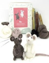 Hawthorn Handmade Mice Needle Felting Kit