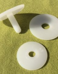 Plastic Safety Joints 35mm for toy making
