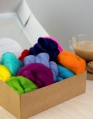 Ethically sourced Merino Wool for needle felting
