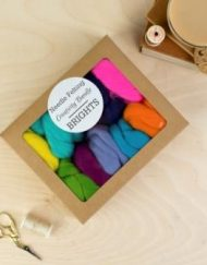 Ethically sourced Merino Wool Tops for needle felting