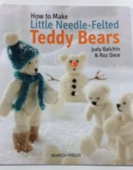 Needle felting teddy bears book