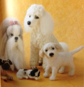Needle Felting Pedigree dogs Book