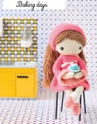 My Crochet Doll Baking Days
