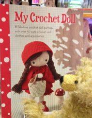 My Crochet Doll has an admirer!