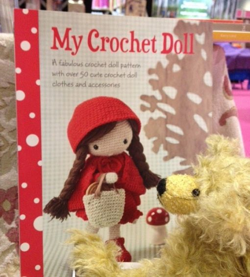 My Crochet Doll has an admirer!