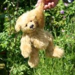 Charlie bear made from mohair