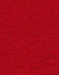 30% Wool Felt Crimson