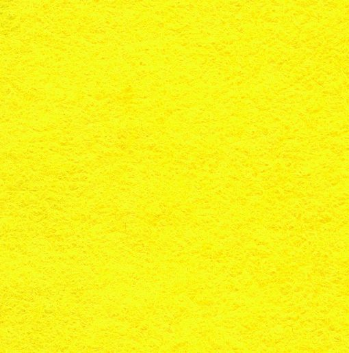 30% Wool Felt - Yellow