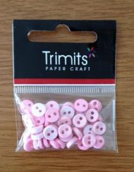Trimits Pink Mini Buttons 2