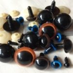 Plastic safety eyes 6mm - 20mm