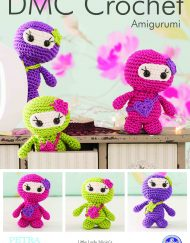 DMC Little Lady Ninja's Amigurumi Crochet Pattern