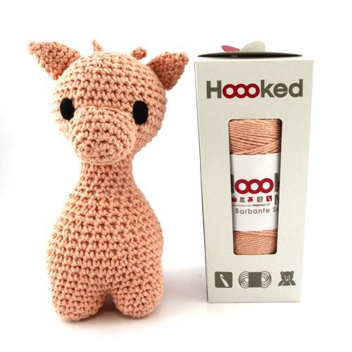 Hoooked crochet kit - Giraffe - Apricot kit
