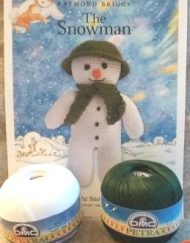 DMC The Snowman Crochet Kit