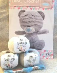 DMC Tatty Teddy Crochet Kit
