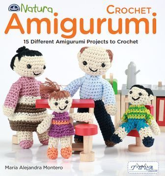 DMC Natura Amigurumi Crochet Book