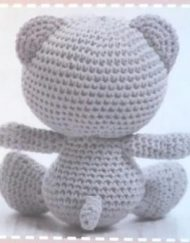 DMC Tatty Teddy Back View