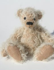 Bear made from 12mm Sparse Ratinee Mohair