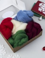 Hawthorn Handmade Christmas Creativity Wool Bundle