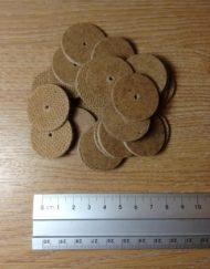 Hardboard disks 30mm