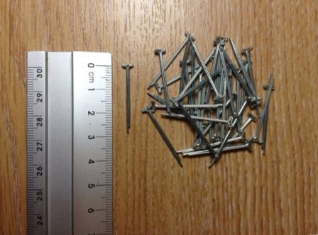 "50 x Cotter Pins 30mm (1/16"" x 1"")"