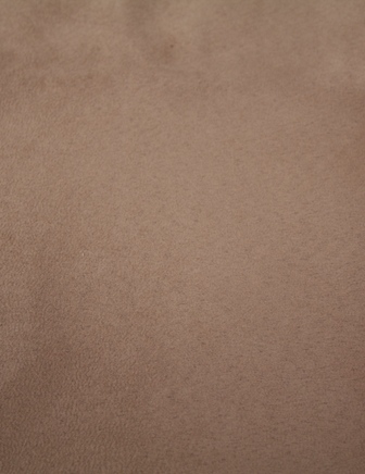 Light Brown Faux Suede