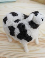 Hawthorn Handmade Jacob Sheep Needle Felting