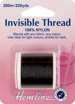 Hemline Invisible Thread Smoke