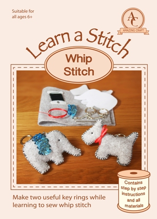 Learn a Stitch - Whip Stitch Kit