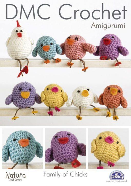DMC Family of Chicks Crochet Pattern