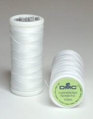 DMC Cotton sewing Thread Blanc (White)