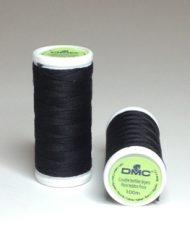 DMC Cotton Sewing Thread Noir (Black)