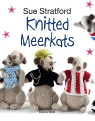 Knitted Meerkats by Sue Stratford