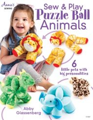 Sew & Play puzzle ball by Abby Glassenberg