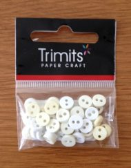 cream and yellow mini buttons