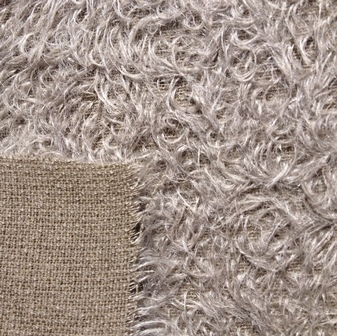 Helmbold Mohair 12mm Sparse - Steel Grey