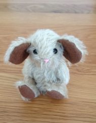 Jackson the Mouse made from mohair