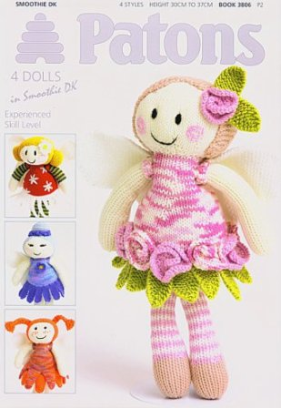 Patons 4 Fairy Dolls
